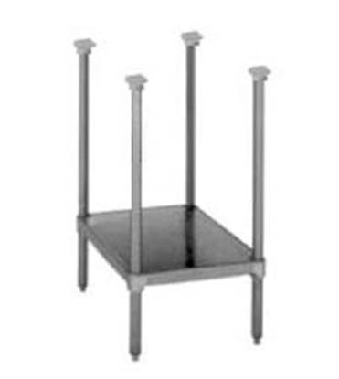 """Picture of Market Forge Sterilizer Stainless Steel Stand with Adjustable Shelf & Feet (29""""High)***"""