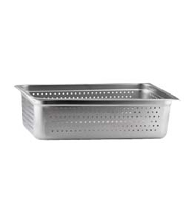 """Picture of Market Forge Sterilizer 12"""" x 20"""" x 6"""" Perforated Tray (Holds (1) 6"""" & (1) 2-1/2"""")"""